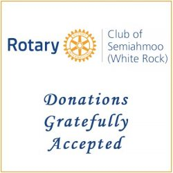 Donate to Rotary Club of Semiahmoo White Rock