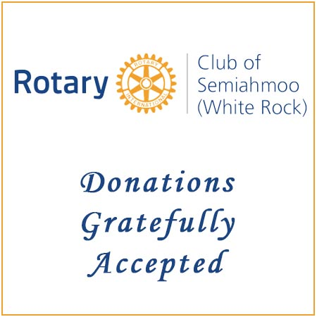 Donate to Rotary Club of Semiahmoo White Rock